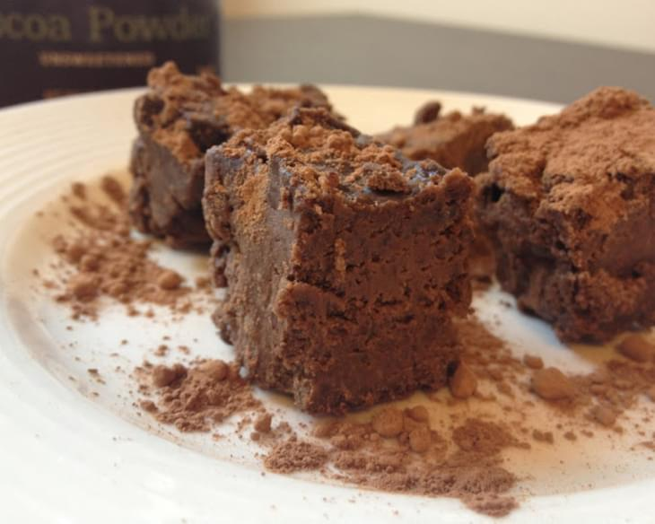 The Fudgiest Of Fudgey Grain Free Brownies