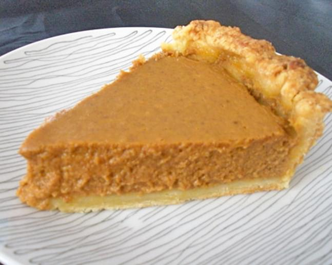 Quick Pumpkin Pie