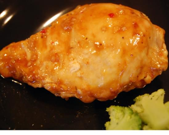 Zingy BBQ Chicken in the Slow Cooker or Oven