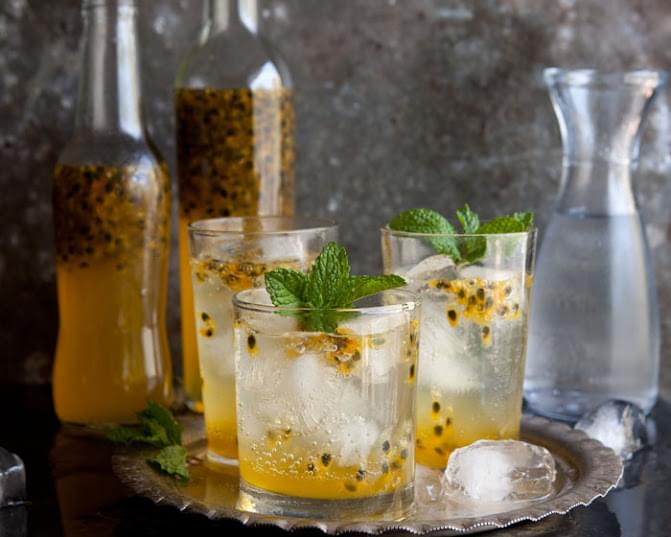 Quick And Easy Home-made Passion Fruit Cordial