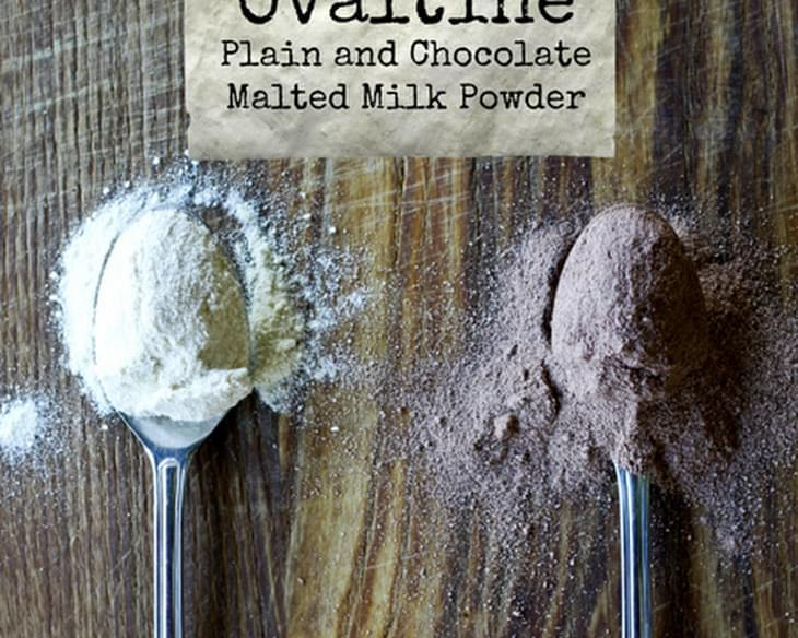Homemade Ovaltine | Malted Milk Powder (Chocolate and Plain)
