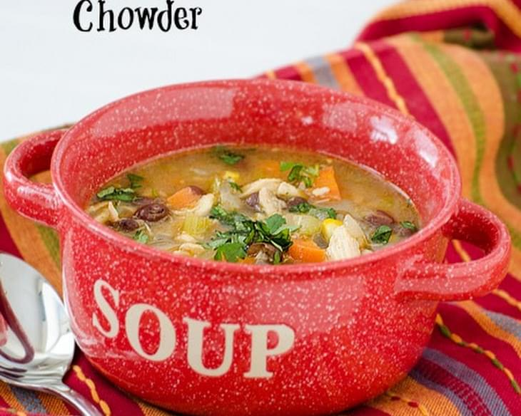Chicken Chili Bean Chowder
