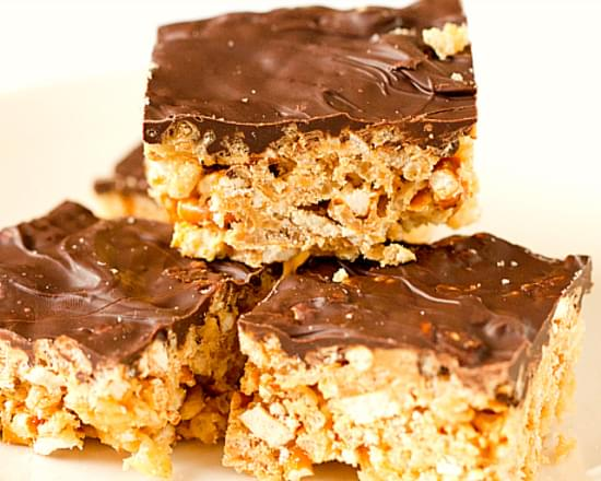 Chubby Hubby Rice Krispies Treats