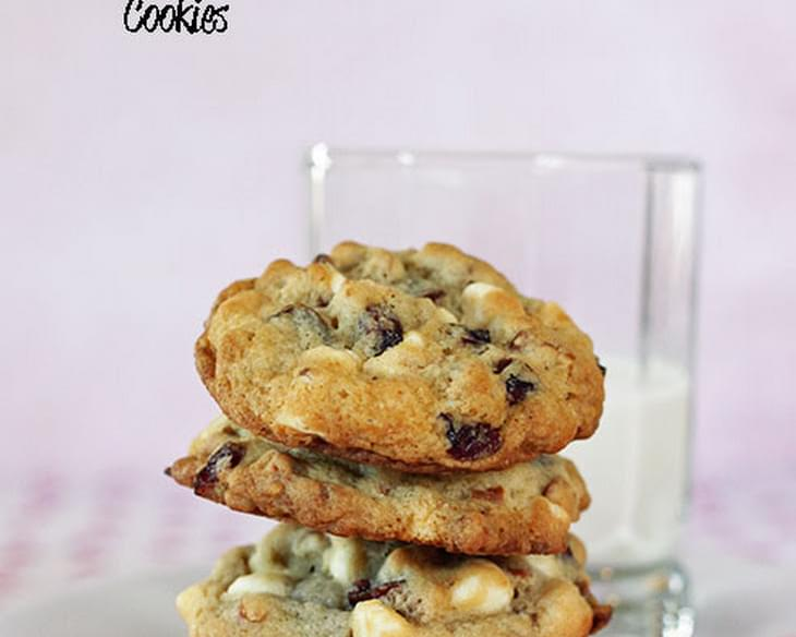White Chocolate Cranberry Pretzel Cookies (Jumbles) Recipe