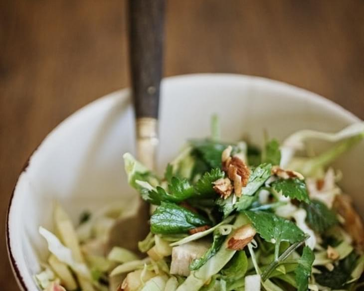 Vietnamese Chopped Cabbage Salad