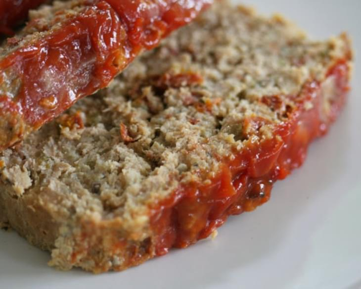 Chicken Meatloaf with Sun-Dried Tomatoes