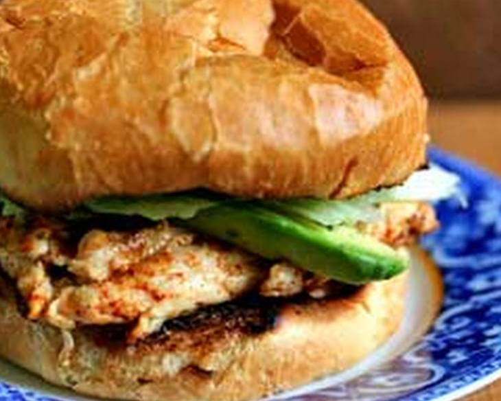 Chipotle Grilled Chicken with Avocado Sandwich Recipe
