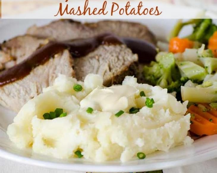 Cheesy Garlic and Herb Mashed Potatoes
