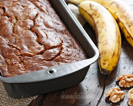 Low Fat Banana Nut Bread