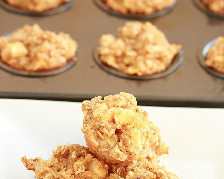Apple Cinnamon Quinoa Bites for Breakfast!