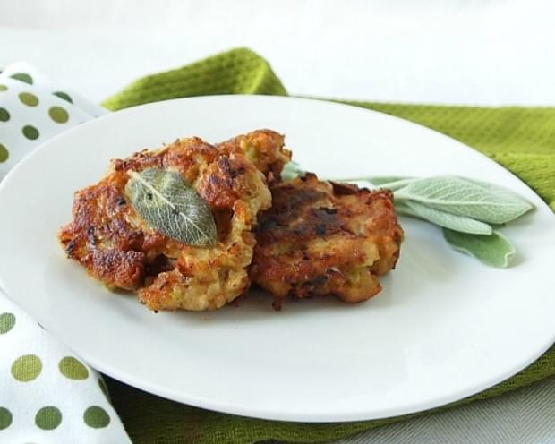 Apple Sage Stuffing Latkes
