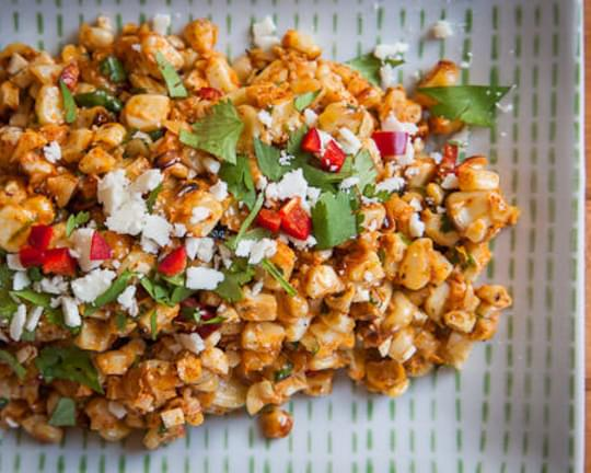 Esquites, otherwise known as Mexican Corn Salad
