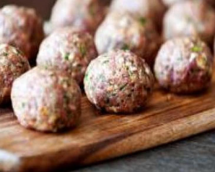 Healthy & Tasty Turkey Meatballs with Rice
