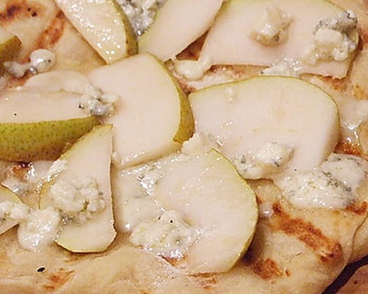 Blue Cheese and Pear Pizza
