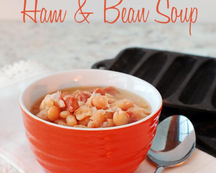 Slow Cooker Ham and Bean Soup aka Soup Beans