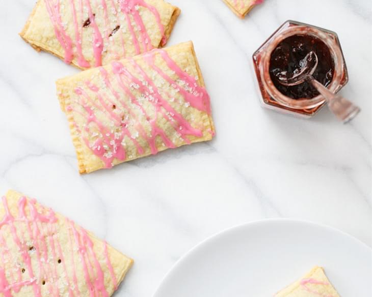 how to make strawberry jam tarts