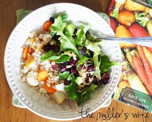 Barley, Ginger, and Carrot Salad