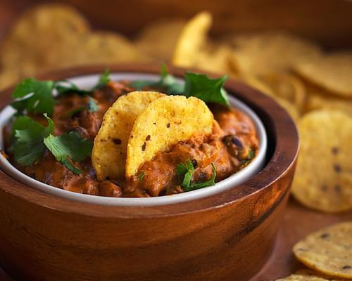Chili Cheese Black Bean Dip