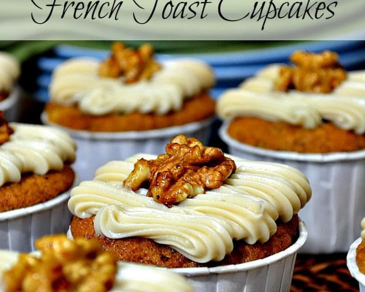 Banana Nut French Toast Cupcakes