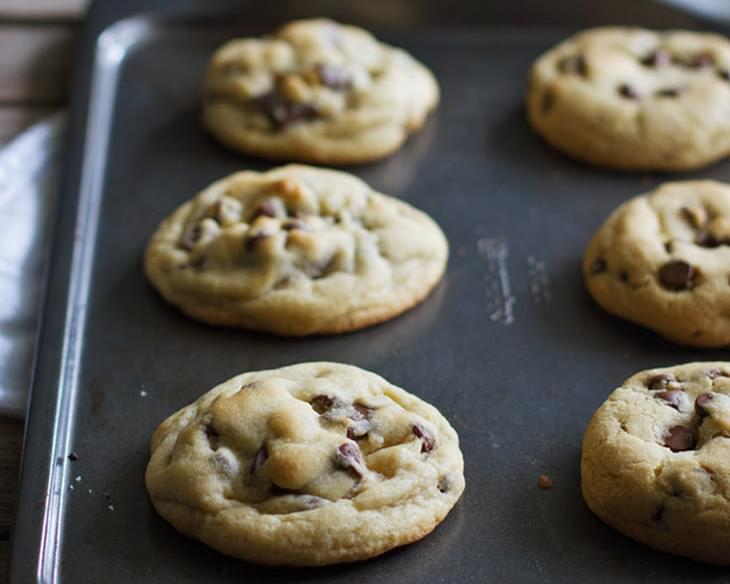 Half-Batch Perfect Chocolate Chip Cookies