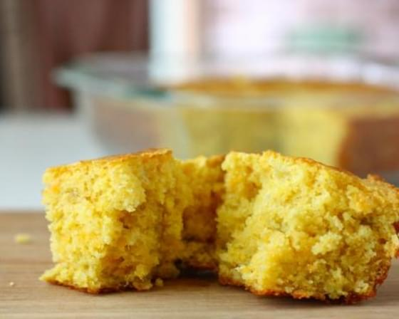 Green Chili Cheddar Cheese Cornbread