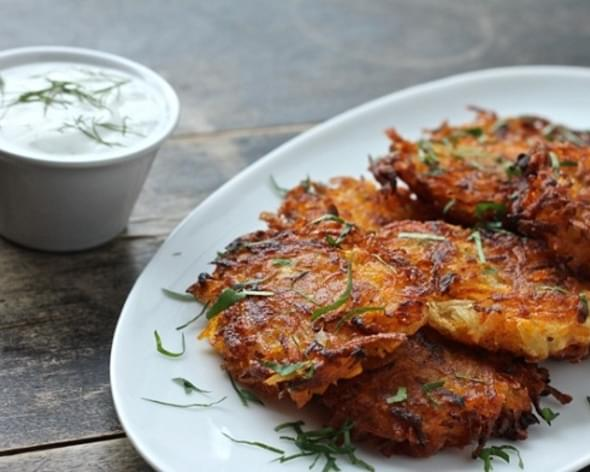 Butternut Squash Potato Cakes