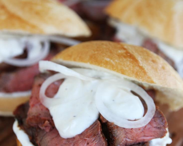 Pit Beef Sandwiches