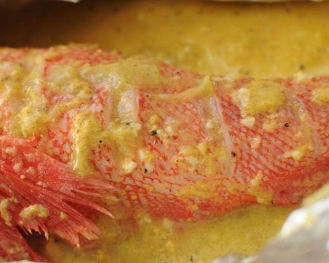 Baked Mustard Lemon Fish