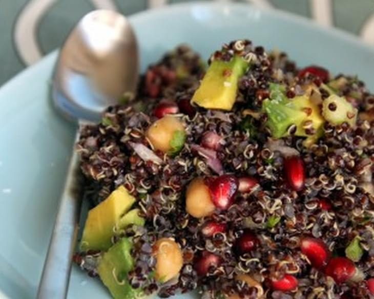 Citrus-Pomegranate Quinoa Salad