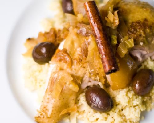 Guinea Hen Olive and Lemon Tagine