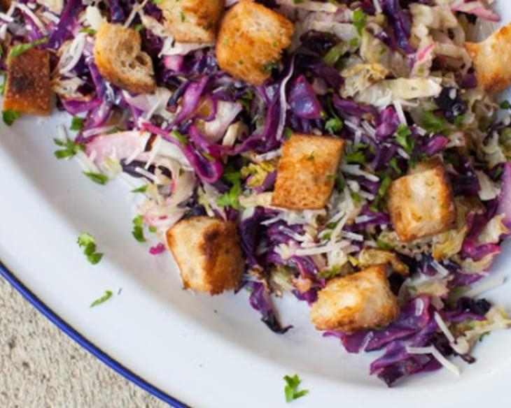 Roasted Cabbage Salad