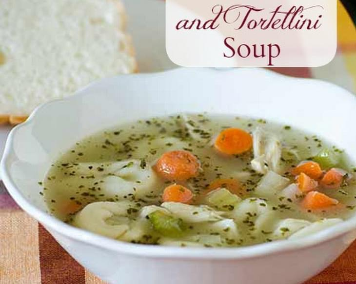 Tortellini Chicken Soup and Carton Smart