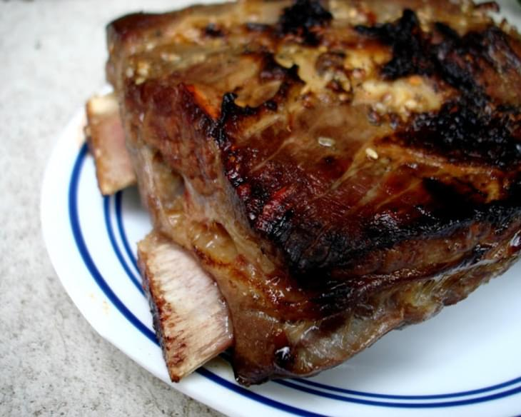 Asian Marinated Crockpot Beef Spare Ribs