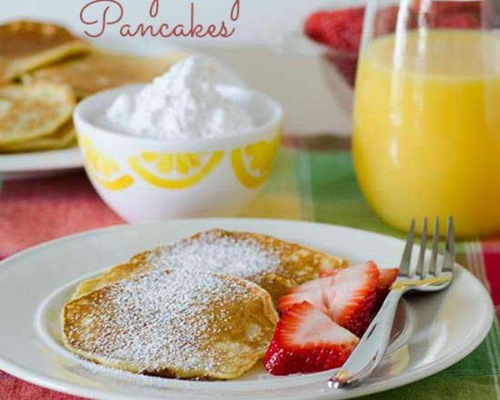 Lemony Light Pancakes