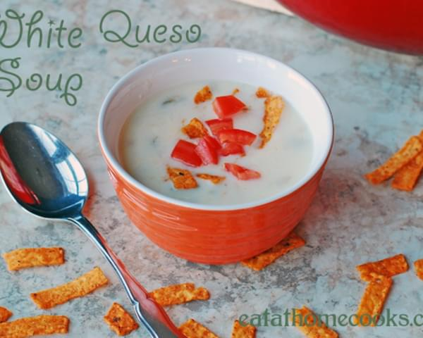 Mexican White Queso Soup
