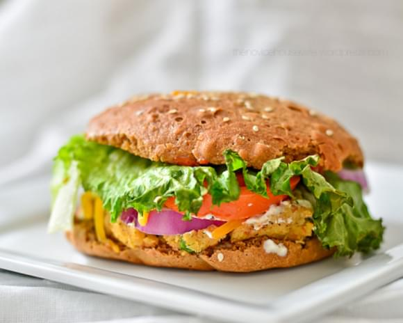 SOY & CHICKPEA BURGERS