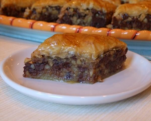 Chocolate Baklava