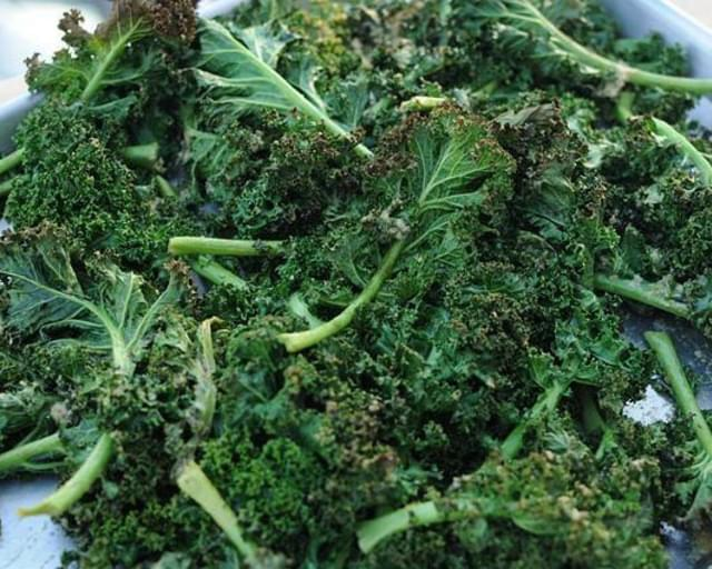 Roasted Mustard Kale