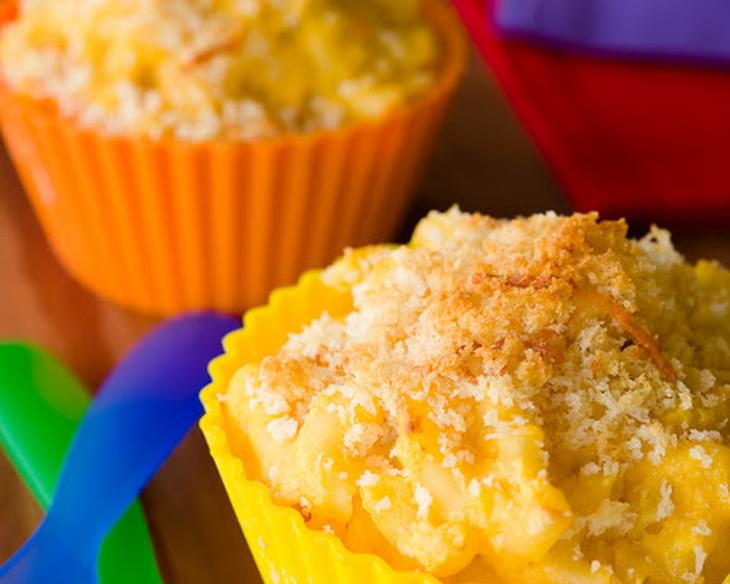 Butternut Squash Mac and Cheese Cupcakes