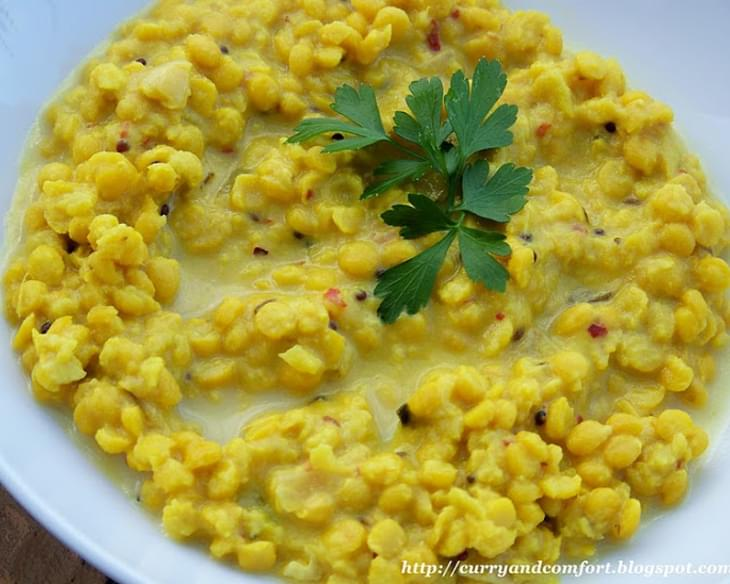 Chana Dhal-Indian Style Lentils