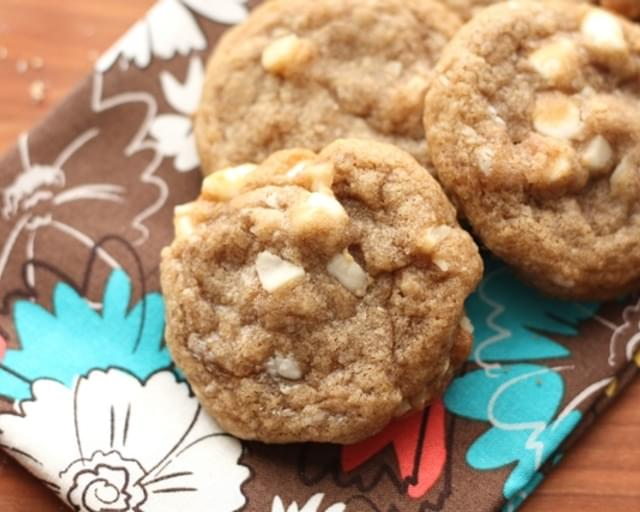 Brown Butter Chocolate Chip Macadamia Nut Cookies ~ Gluten Free or Not