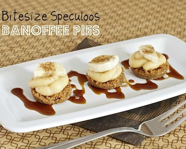 Speculoos Mini Banoffee Pies