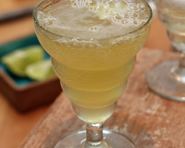 Pineapple-Ginger Sparkling Wine Cocktail