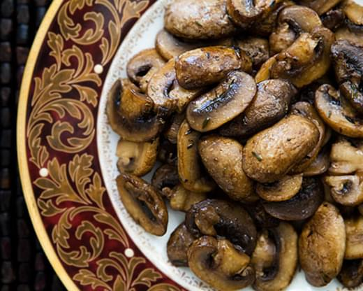 Marsala Glazed Mushrooms