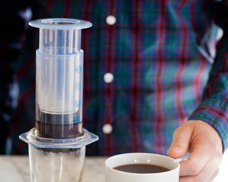 How To Make Aeropress Coffee (Two Ways!)