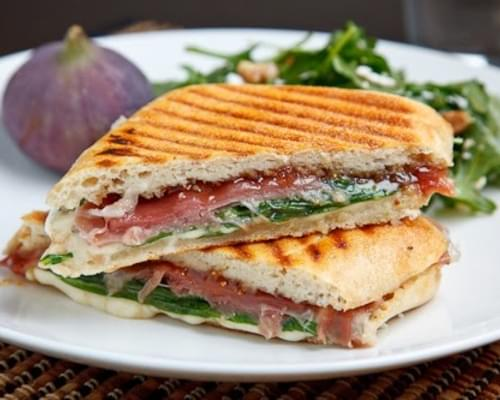 Fig and Prosciutto Grilled Cheese Sandwich Recipe