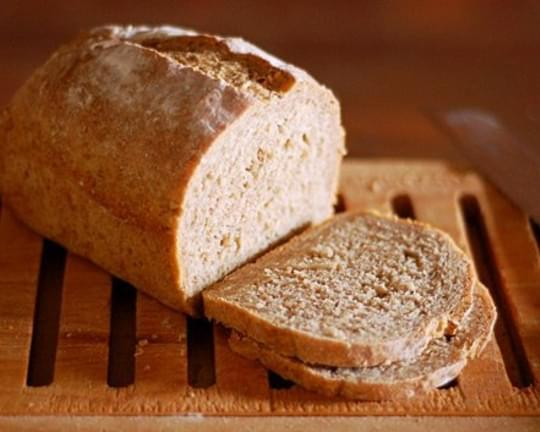 No-Knead Multi-Grain Peasant Bread