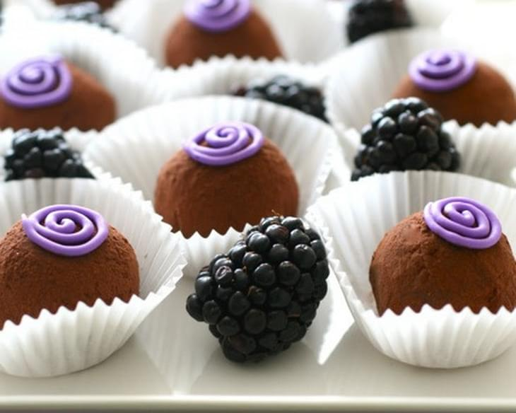 Blackberry Truffles