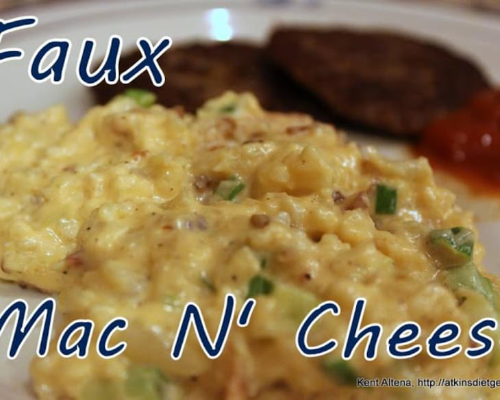 Low Carb Faux Mac N' Cheese (IF)