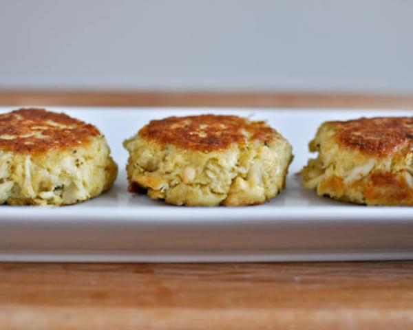 Easy Light Crab Cakes